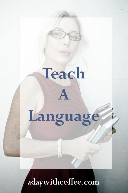 teach a language