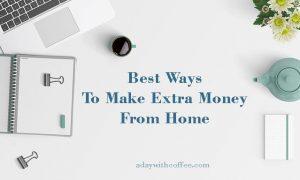 best ways to make extra money