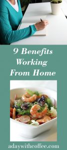 9 benefits working from home