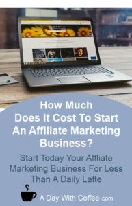 How Much Does It Cost To Start An Affiliate Marketing Business