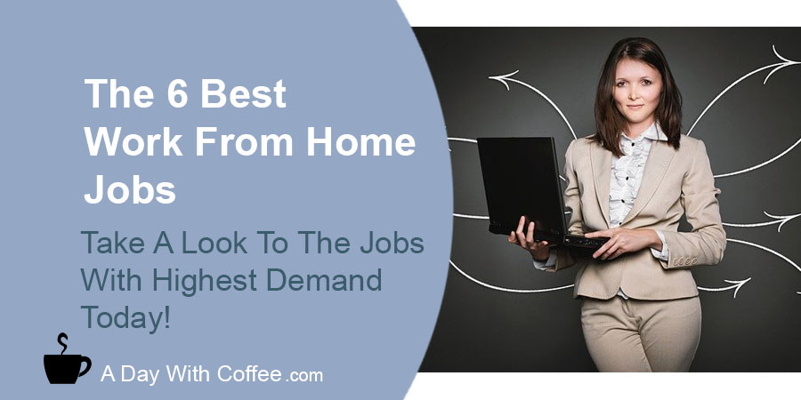 Best Work From Home Jobs - Woman With A Laptop