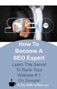 How To Become A SEO Expert - SEO Sign And A Hand
