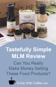 Tastefully Simple MLM Review - Cooking Mix Set