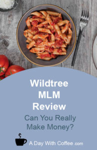 Wildtree MLM Review - Pasta Meal