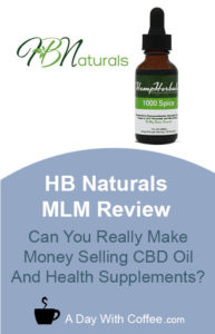 HB Naturals MLM Review - CBD Oil Products