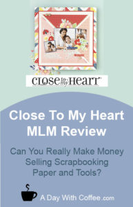 Close To My Heart MLM Review - Scrapbooking Page